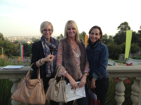Rebecca Dina Sarah View of Beverly Hills Greystone Mansion