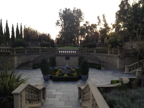 Beverly Hills Greystone Estate Outside