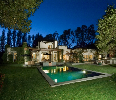 modern style montecito home