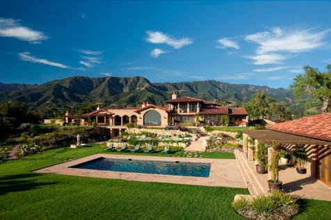 Montecito Santa Barbara mediterranean home