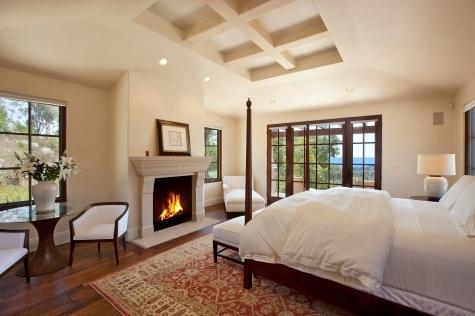 Montecito mediterranean home master bedroom 3