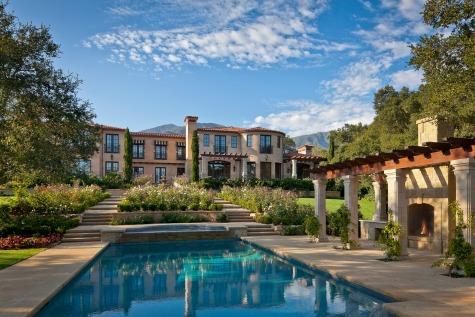 Montecito mediterranean style home 2