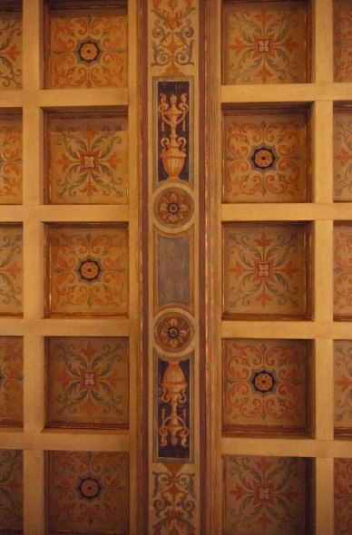 Tollis hand painted ceiling