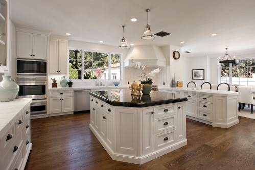 beautiful hot springs montecito kitchen