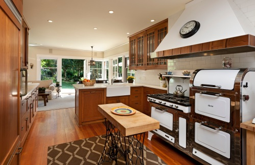 vintage montecito kitchen