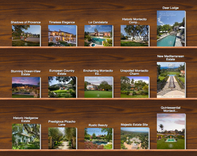 Montecito Properties of Distinction Electronic Brochures from Rebecca Riskin & Associates