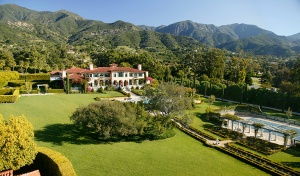 This ocean view estate on Montecito's Picacho Lane is the epitome of elegance