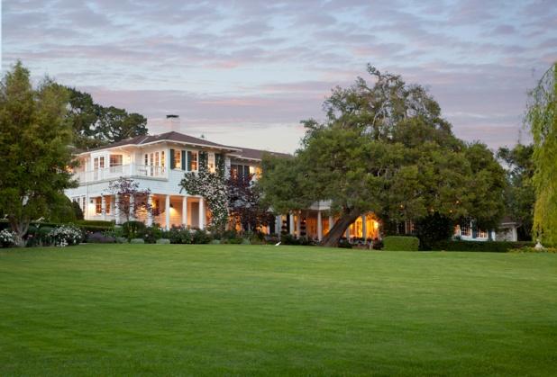 A Montecito estate listed by Riskin Associates