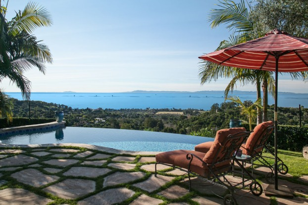 An incredible ocean view Montecito estate