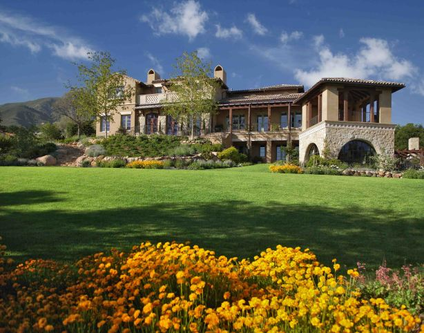 A Riskin Associates Mediterranean estate