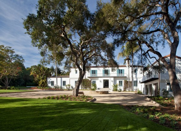 George Washington Smith designed this impeccable Montecito estate in 1923