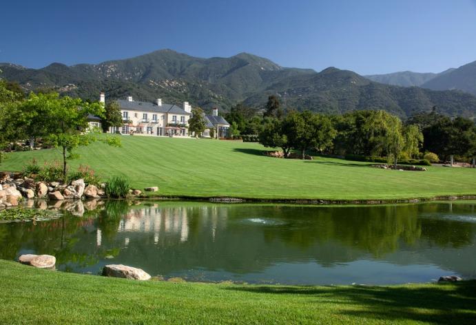 A lavish montecito estate