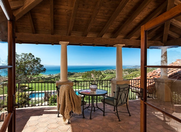 Santa barbara water montecito real estate for Spell balcony