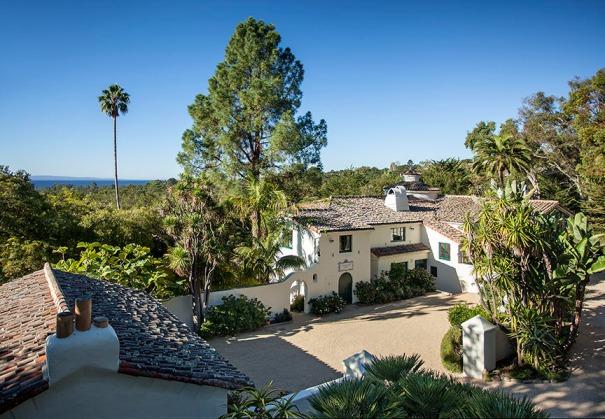 Stunning Spanish Compound w/ Ocean views in Montecito.