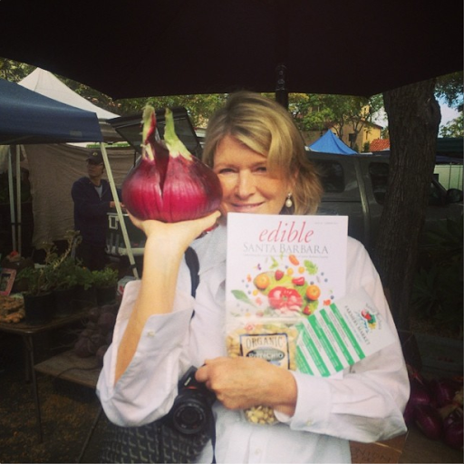 Martha Stewart in Santa Barbara