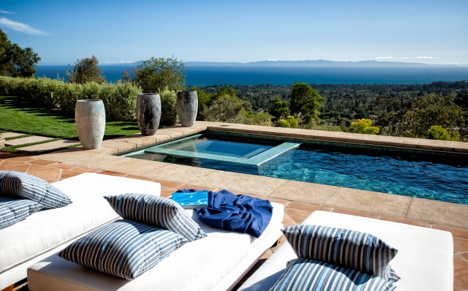1398 oak creek canyon, montecito custom estate